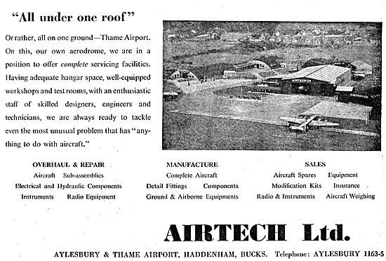 Airtech Aeronautical Engineering Services - Aylesbury & Thame
