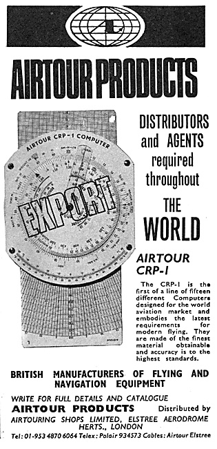 Airtour CRP-1 Navigation Computer 1970