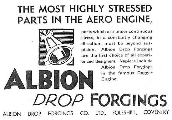 Albion Drop Forgings - Napier Dagger