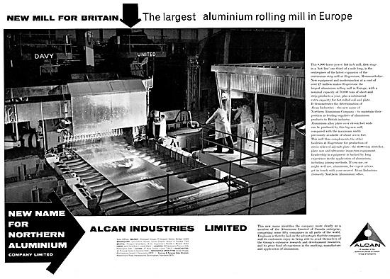 Alcan Industries Aluminium Rolling Mills 1960