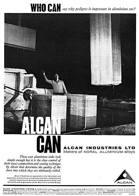 Alcan Industries - NORAL Cast  Aluminium