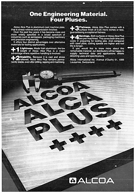 Alcoa International. Aluminium Processes- Alca Plus