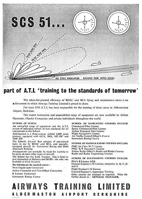 Airways Training Ltd . Aldermaston Airport Berkshire