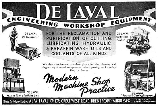 Alfa-Laval - De Laval Engineering Workshop Equipment