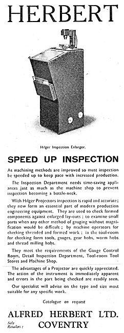 Alfred Herbert Machine Tools