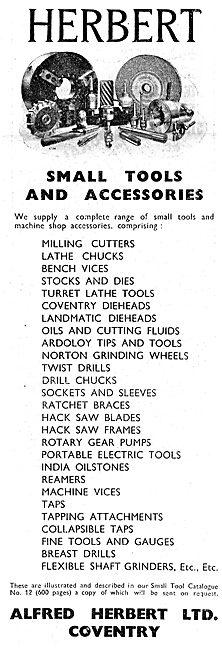 Alfred Herbert Machine Tools & Accessories