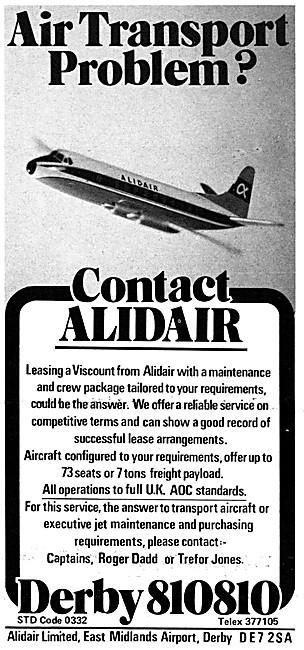 Alidair Leasing  - Alidair Sales, Charter & Maintenance