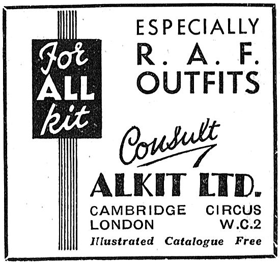 Alkit RAF Outfits