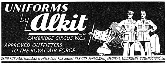 Alkit - Approved Outfitters To The Royal Air Force