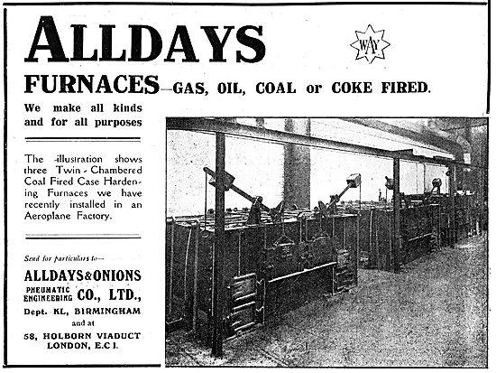 Alldays & Onions Ltd. - Heat Treatment Furnaces