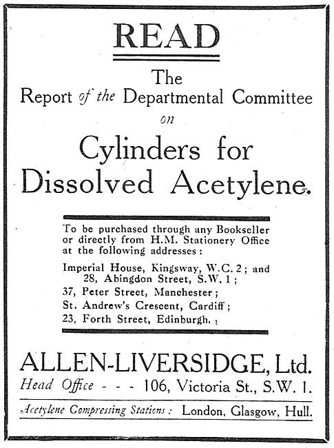 Allen-Liversidge - Oxy-Acetylene Welding & Cutting Supplies