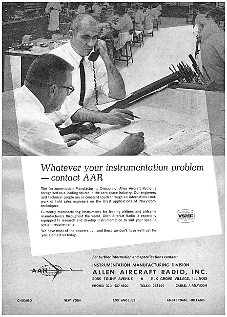Allen Aircraft Radio.  Avionics