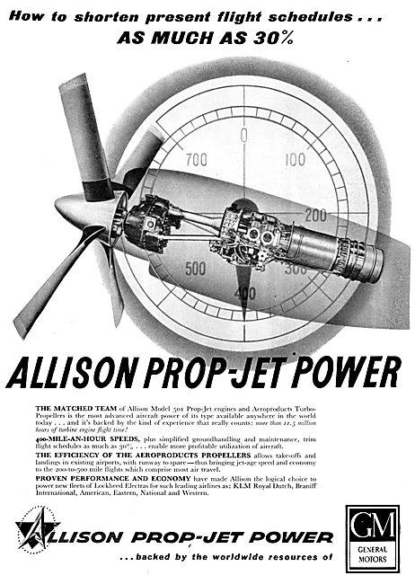 Allison Model 501 Prop-Jet