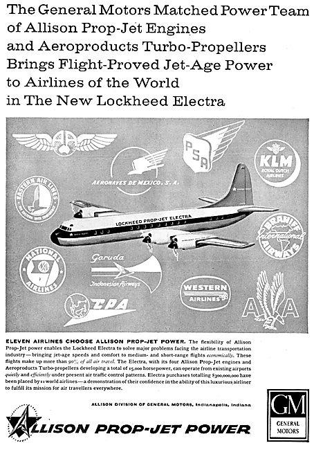 Allison Prop-Jet Engines