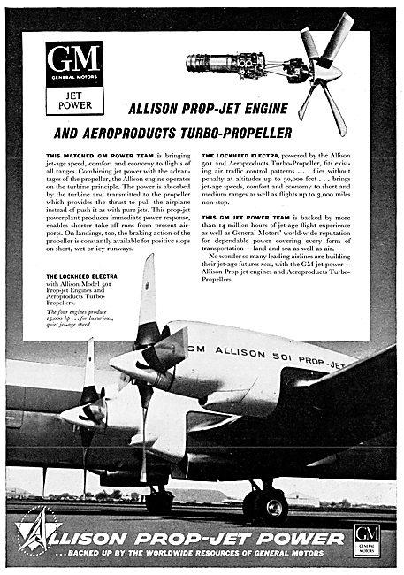 Allison 501 Prop-Jet