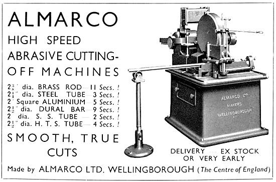 Almarco Machine Tools - Almarco Abrasive Cutting-Off Machines