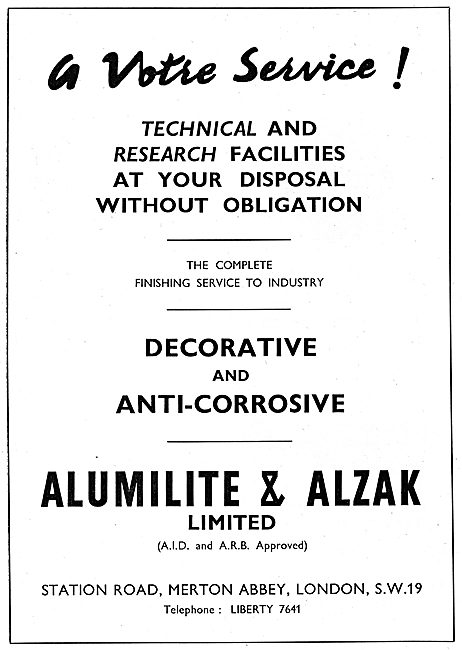 Alumilite & Alzak Anti-Corrosive Treaments