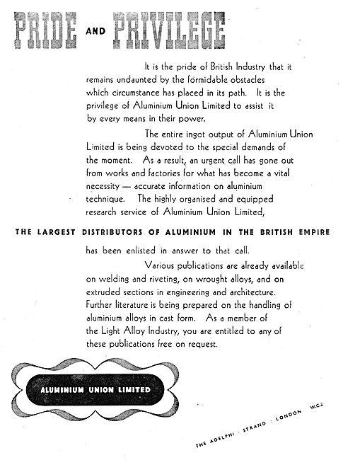 Aluminium Union - Aluminium Distributors