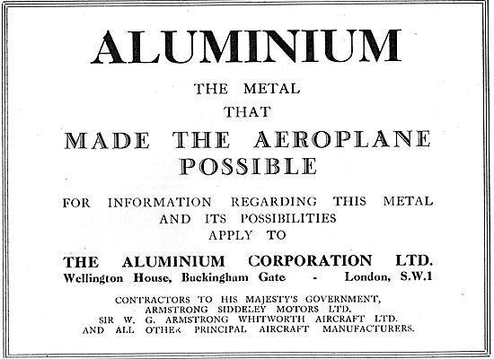 Aluminium Corporation - Contractors To HM Govt