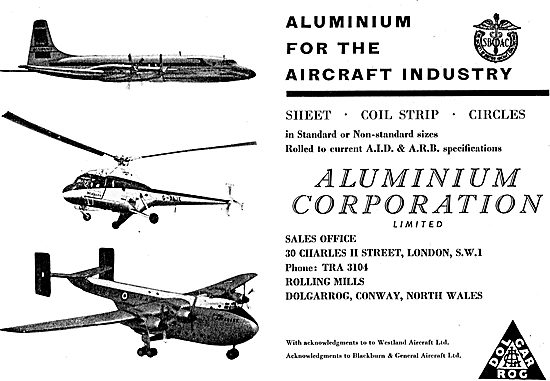 Aluminium Corporation - Aluminium For The Aircraft Industry