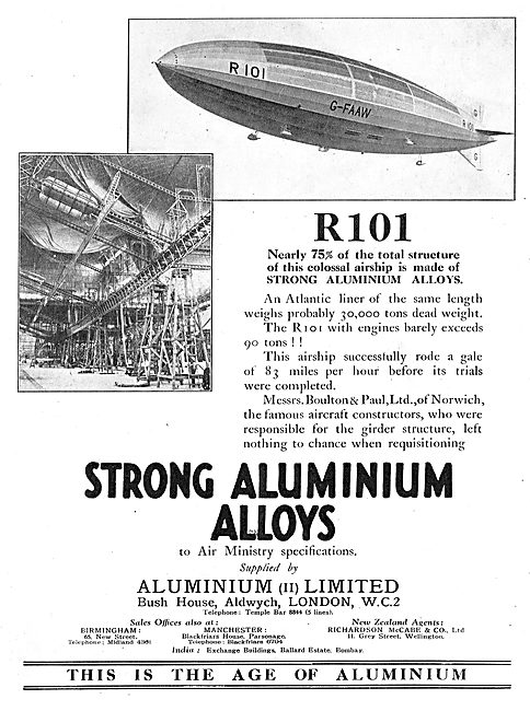 AluminiumLtd - Air Ministry Spec Strong Aluminium Alloys