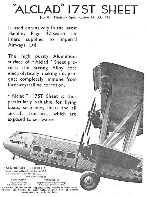 AluminiumLtd - DTD III Alclad 17ST Sheet