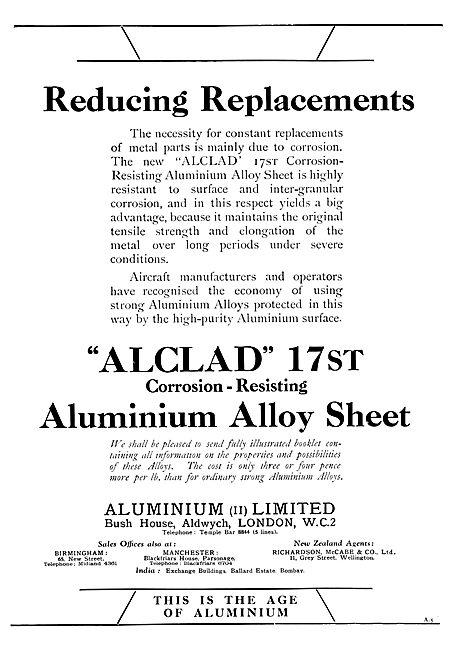 Aluminium Ltd - Alclad 17st