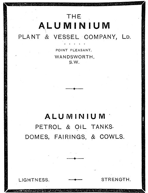 The Aluminium Plant & Vessel Company Ltd