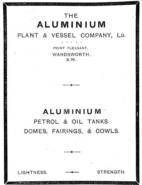 The Aluminium Plant & Vessel Company Ltd