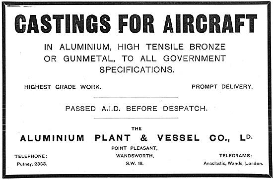 Aluminium Plant & Vessel Castings In Aluminium