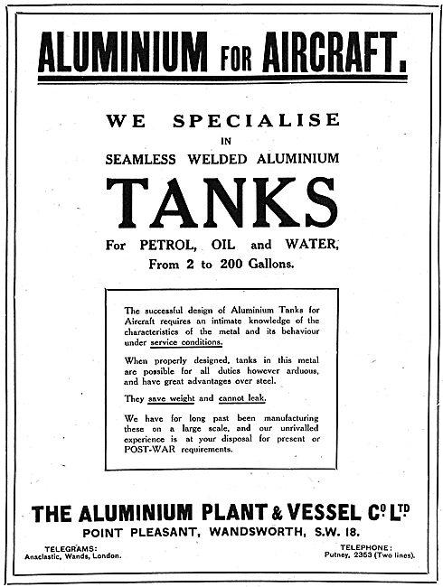 The Aluminium Plant & Vessel Co - Aluminium & Gunmetal Castings