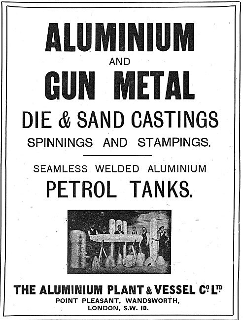 The Aluminium Plant & Vessel Co - Aluminium & Gun Metal Castings