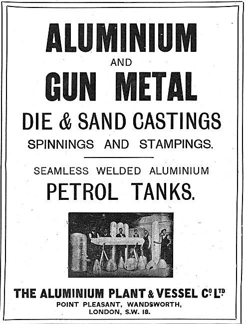 The Aluminium Plant & Vessel Co - Aluminium & Gun Metal Castings