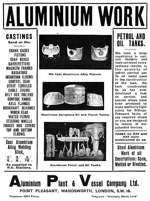 The Aluminium Plant & Vessel Company Ltd - Die Cast Parts