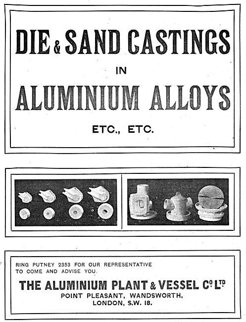 The Aluminium Plant & Vessel - Sand & Die Casting