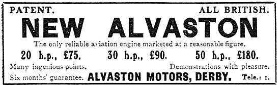 Alvaston Aeroplane Motors - Derby