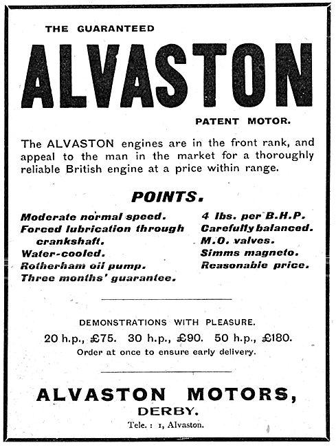 Alvaston Aeroplane Engines