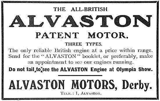 Alvaston Reliable Aeroplane Motors