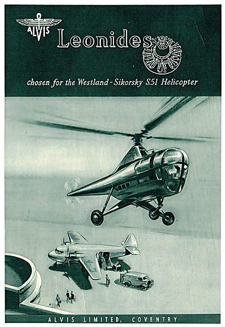 Alvis Leonides - Westland-Sikorsky S51