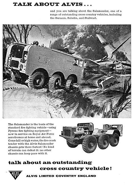 Alvis Salamander Fire Fighting Vehicle