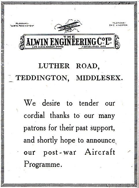 Alwin Engineering - Aeronautical Engineers
