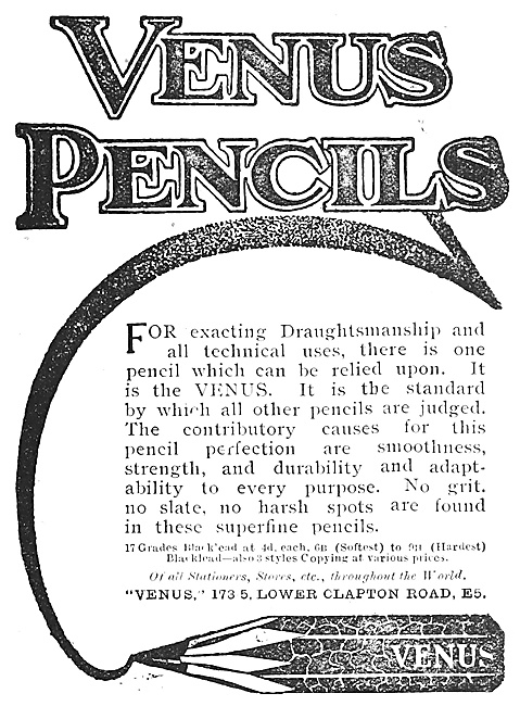 American Lead Pencil Company : Venus Pencils