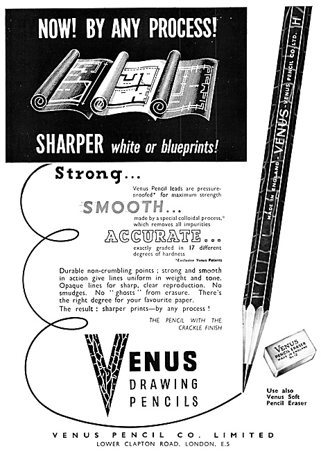 Venus Draughtsmens Technical Drawing Pencils