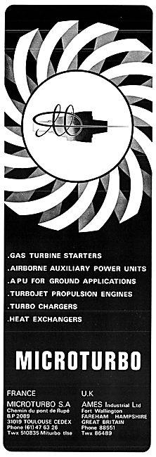 Ames Industrial Microturbo Gas Turbines 1977