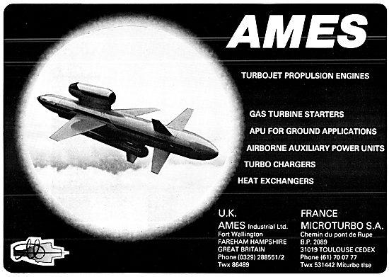 Ames Microturbo Gas Turbines 1978