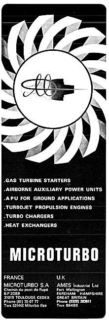 Ames Microturbo Gas Turbines