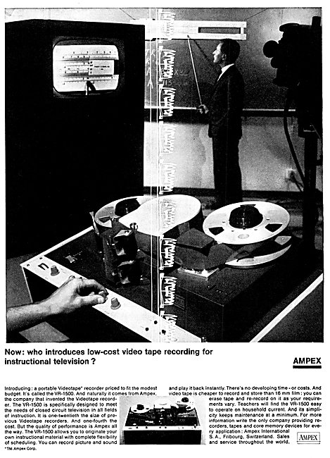 Ampex Video Tape Recorders