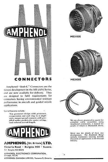 Amphenol Electrical Connectors