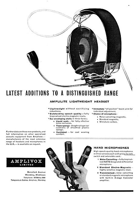 Amplivox Headsets