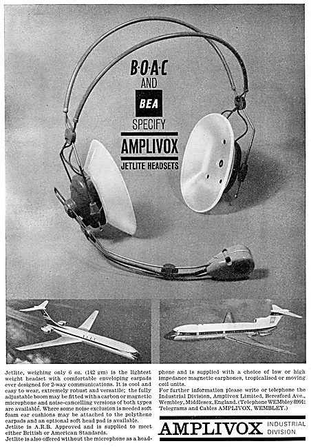 Amplivox JETLITE Headsets